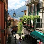 Streets of Bellagio...about a 3-5 minute walk from the hotel