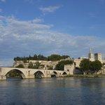 Pont d'Avignon et le Palais des Papes
