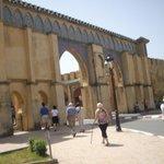 Meknes - Medina wall