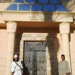 Palacio faraonico a orillas del Nilo