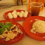 Tender chicken, fragrant rice