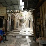 Una calle del barrio árabe