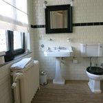 Bathroom with good bath products