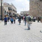 Puerta de Jaffa, explanada