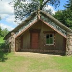 Hinemihi - Real Mauri Meeting House brought back by the 4th Earl