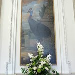 Interesting paintings in enterance hall