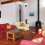 First floor lounge at Hotel Mas Pelegri