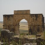 Volubilis - Arch of Caracalla