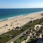 Balcony view to ocean