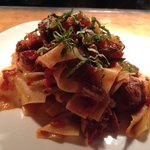 Hand Made Pappardelle with chef's fresh ragu