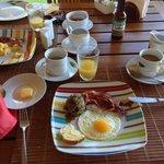 Zum Frühstück gibt es alles was das Herz begehrt!