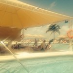 Swim up adult bar & pool
