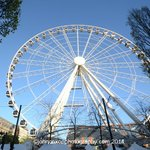 Manchester Eye- the big wheel offering stunning views of the city and beyond