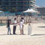 wedding on beach