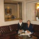 В лобби отеля