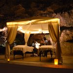Our couples massage in the cave