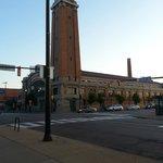 West Side Market, just across the street