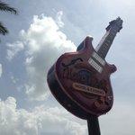 Famous Hard Rock guitar