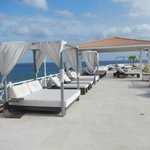 Luxury Relaxing Pool Side with Bar/Restaurant overlooking Caribbean Ocean
