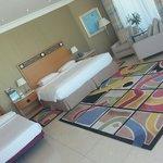 Room 502 corner room overlooking the beach