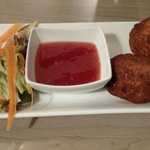 Fishcakes with sweet chilli sauce
