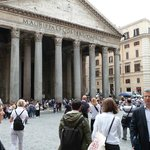 The Pantheon- maybe the most impressive of the tour!