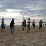 Beach volleyball at Coral Stone