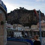 Walking back from Amalfi to Atrani
