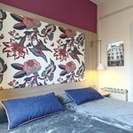 budget double room with private bathroom Hotel Ginebra Barcelona