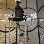 The 1912 Chance Brothers lens from Rubh Reidh Lighthouse