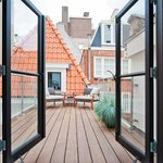 Roof terrace berenstraat suite