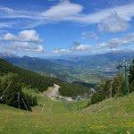 Pistas de Esquí La Masella en primavera.