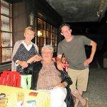 Silvia, Peter und Philippe, die Hotelbesitzer