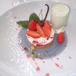 Tartelette aux fraises à notre façon