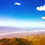 Panamint Valley in the west from Summit