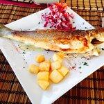Delicious local fish