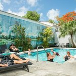 Rose Lane Villas are located in the heart of Old Town Key West, half a block from Duval Street.