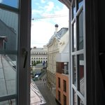 View from our room 1904 Art Nouveau Atlas with Opera House in background