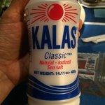 Even the salt is Greek