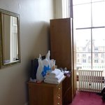 Room on 2nd floor, facing the street