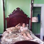 Pelican Suite canopy bed