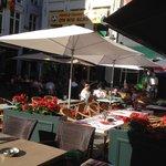 terras Eiermarkt, Cafe Belfort