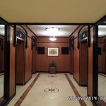 Lobby by lifts
