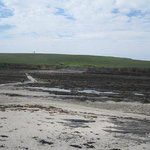 Brough of Birsay causeway exposed