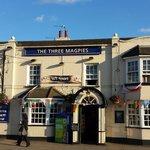 The Three Magpies Restaurant--Quaint English Pub