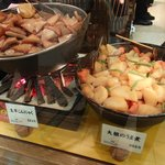 Great food stalls in the Takashimaya Department Store Basement