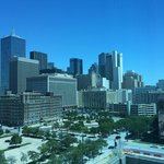 View of the Dallas Skyline from My Room