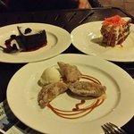 dessert at Atoll
