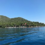 View of Hotel from boat trip