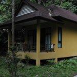 En av våra bungalows